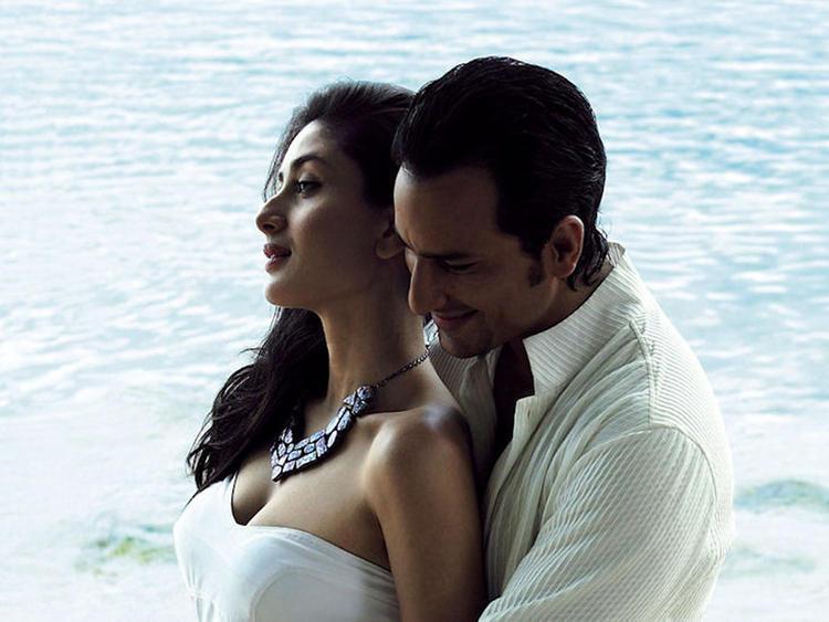 Kareena Kapoor and Saif Ali Khan Hot Scene Pic