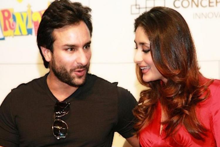 Kareena Kapoor with Saif Ali Khan Latest Still