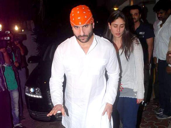 Kareena and Saif Pays Tribute to Mona Kapoor