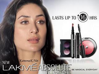 Kareena Face in Lakme Ad