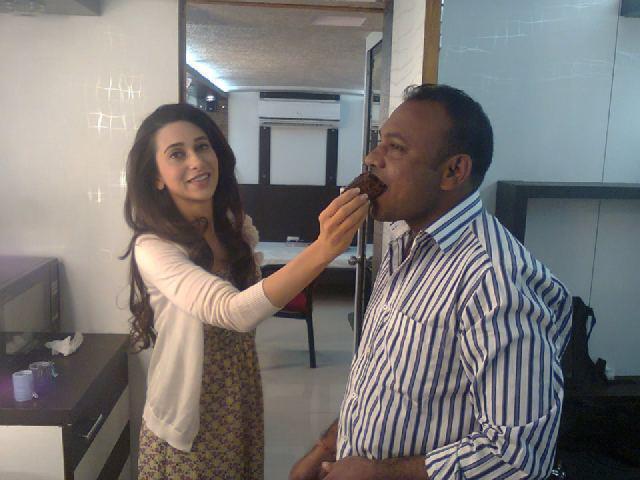 Karishma Kapoor On the Sets of Dangerous Ishhq