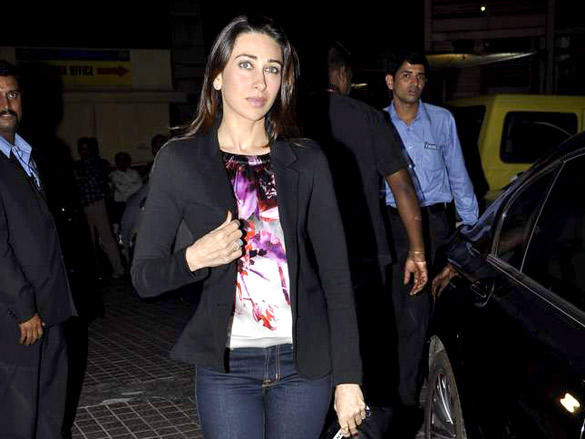 Karishma Kapoor at Agent Vinod Screening at PVR