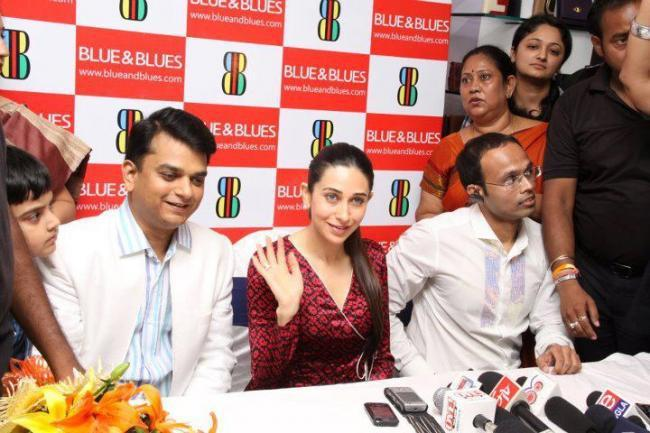 Karishma Kapoor at The Blue and Blues Store Launch Latest Photo