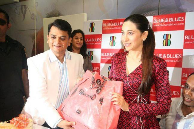 Karishma Kapoor at The Blue and Blues Store Launch
