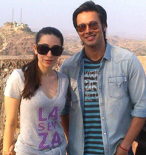 Karisma Kapoor Spotted on the Sets of Dangerous Ishhq