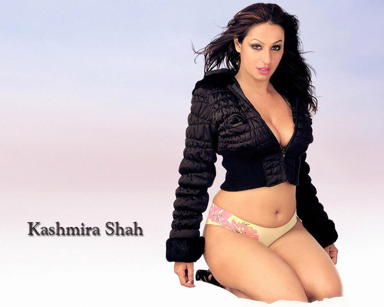 Kashmira Shah Sizzling Hot Sexy look Wallpaper