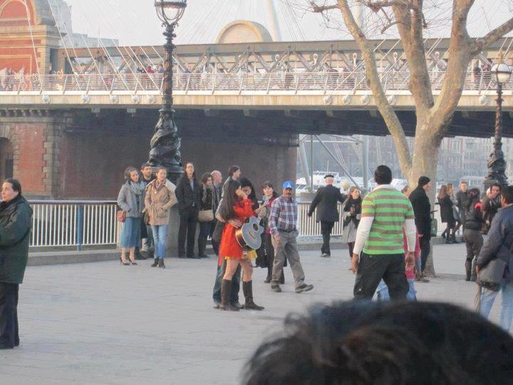 Katrina Kaif,Shahrukh Khan In London For Shoot London Ishq