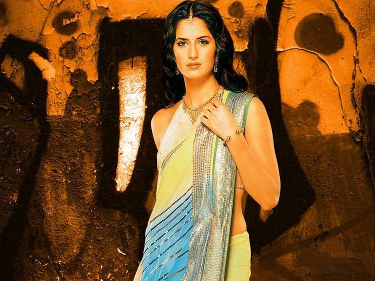 Katrina Kaif In Saree Gorgeous Pic