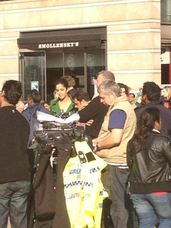 Katrina Kaif On The Sets of London Ishq