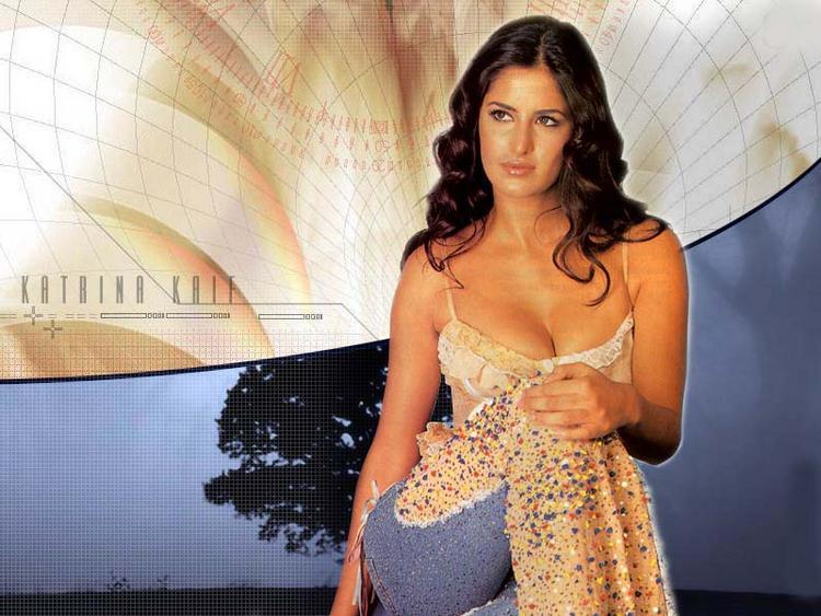 Katrina Kaif Open Boob Nice Hair Style Pic