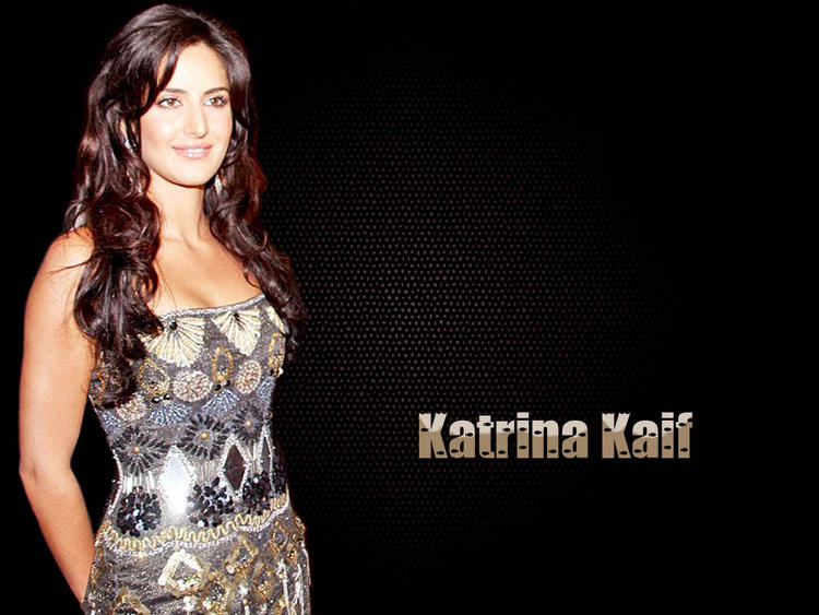 Katrina Kaif Open Boob Show Gorgeous Wallpaper