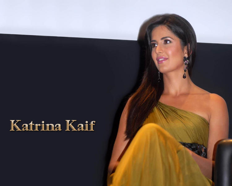 Katrina Kaif Sleeveless Dress Wallpaper