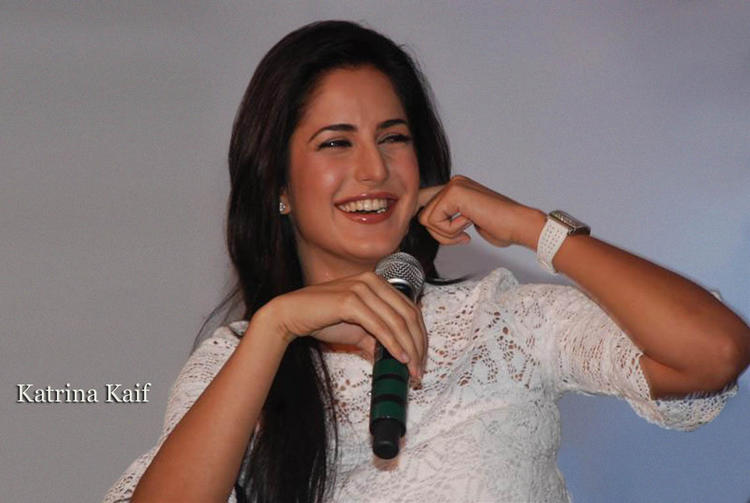 Katrina Kaif With Open Smile Pic