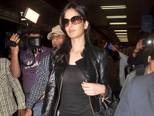 Katrina Kaif leave for Zee Cine Awards in Macau