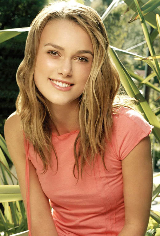 Keira Knightley Beautiful Smile Stunning Pic