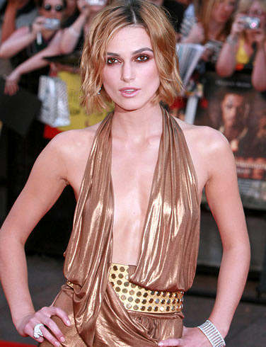 Keira Knightley Public Photo With Sexy Dress
