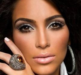 Kim Kardashian Latest Romancing Face Look