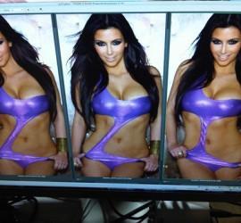 Kim Kardashian Twitter Bikini Picture
