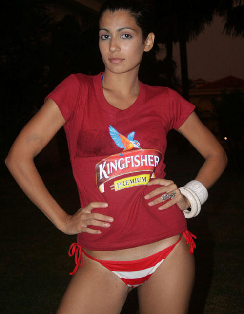 KingFisher Calendar Girl - Tara D'souza