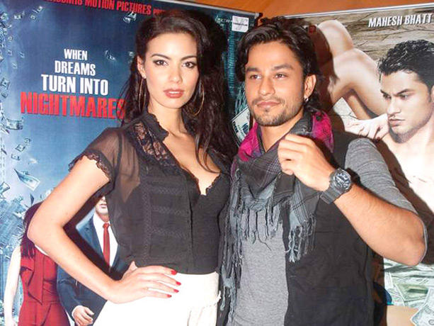Kunal Khemu,Mia Uyeda at Blood Money Promotional Event