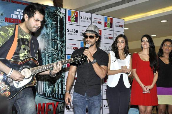 Kunal Khemu,Mia and Amrita Puri Promote Their Film Blood Money