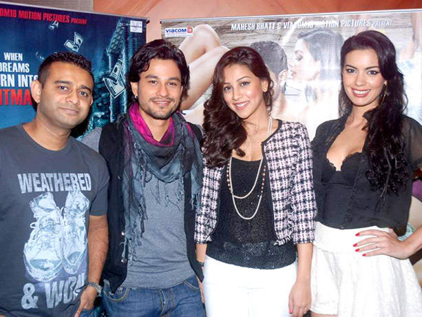 Kunal Khemu and Amrita Puri at Blood Money Promotional Event