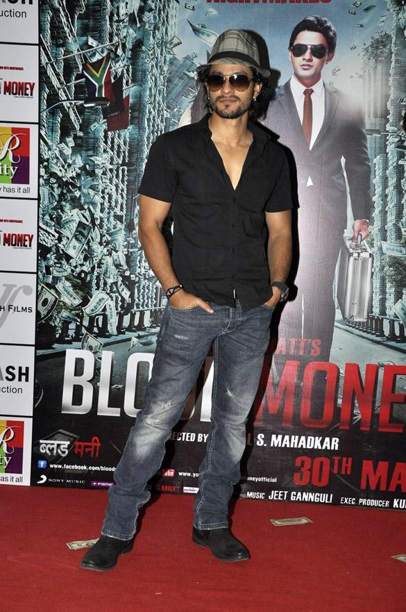 Kunal Khemu at Blood Money Promotions at R-City