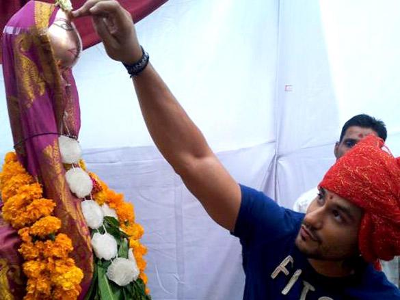 Kunal Khemu at Promotions of Blood Money in Nagpur
