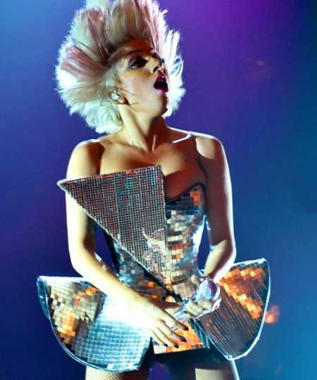 Lady Gaga Amazing Dress Hot Still