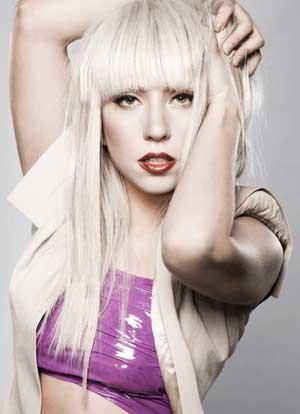 Lady Gaga Hair Style and Romantic Face Still