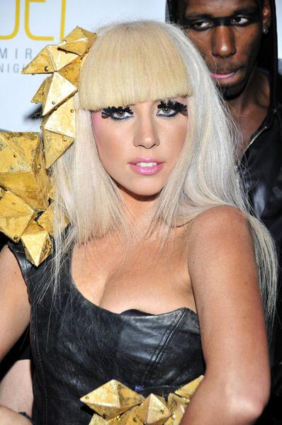 Lady Gaga Open Boob Glamour Still