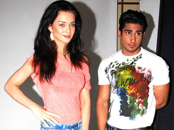 Lawman Page 3 style partner exclusive Phoot Shoot with Pratiek and Amy Jackson