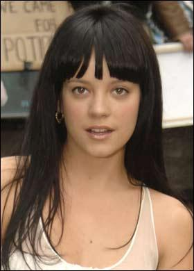 Lily Allen Nice Hair Style Pic