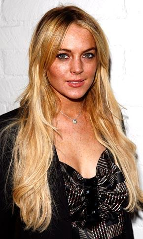 Lindsay Lohan  Long hair Glamour Still