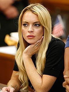 Lindsay Lohan Cute Face Still