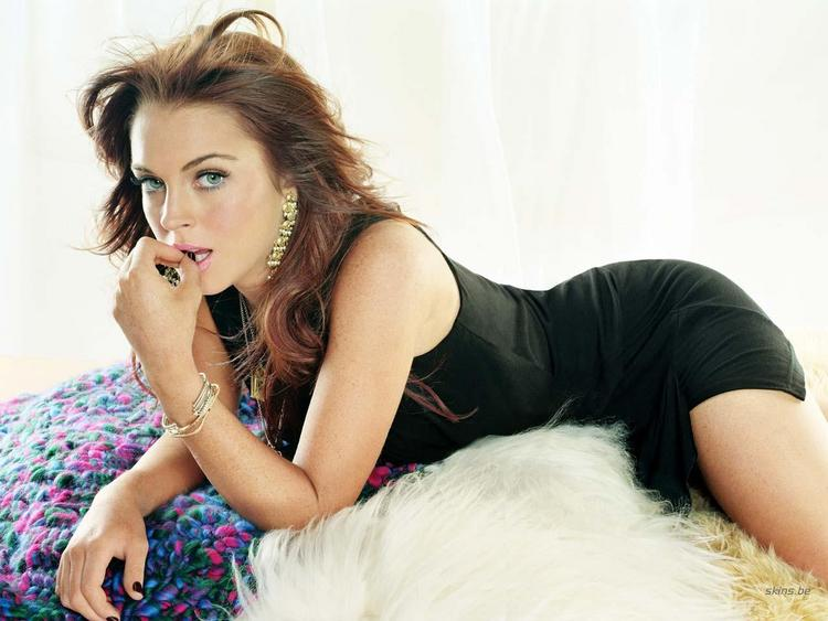 Lindsay Lohan Photo Shoot with Romantic Look