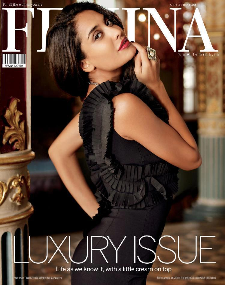 Lisa Haydon On The Cover of Femina Luxury Issue