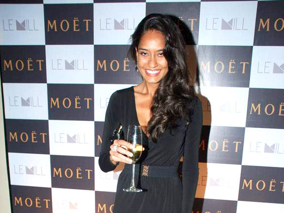 Lisa Haydon at Moet and Chandon valentine evening
