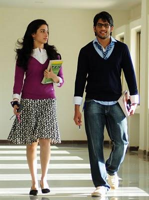 Love Movie Tamanna and Naga Chaitnya Stills