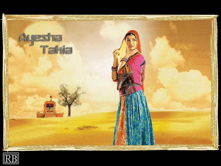 Lovely Actress Ayesha Takia Wallpaper