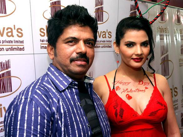 Madhavi Sharma with Shiva latest shoot