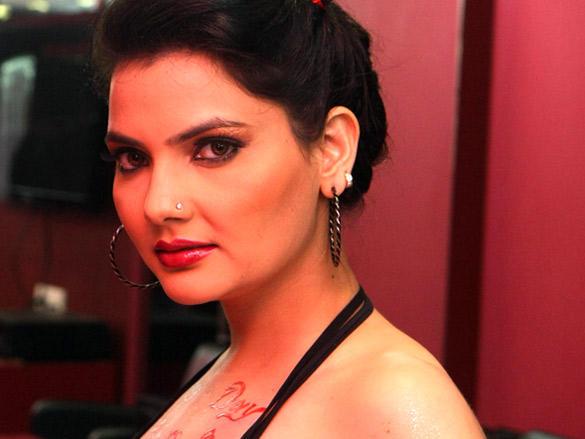 Madhavi Sharmas pre Valentine shoot at Shiva's Salon