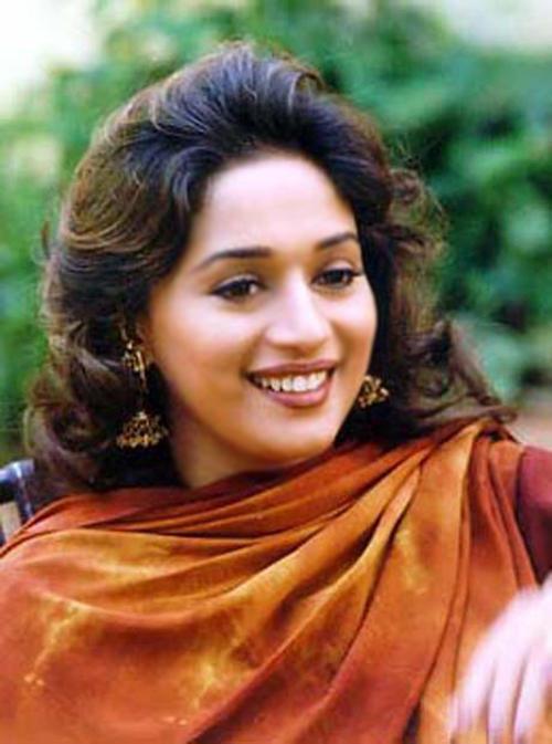 Madhuri Dixit Stunning Face Wallpaper