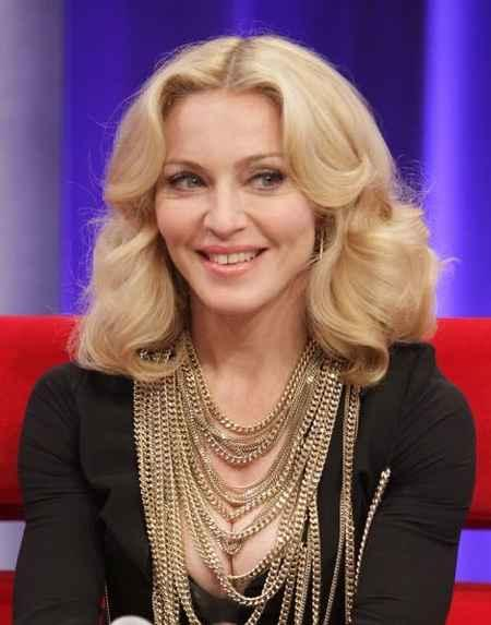 Madonna Beauty Smile Pic