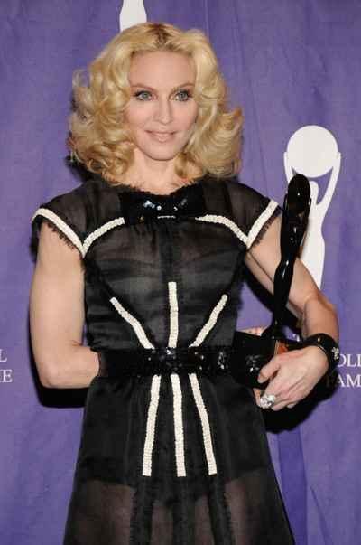 Madonna Black Dress Cute Still