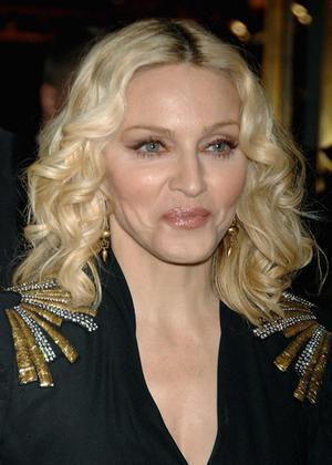 Madonna Cute Smile Face Sweet Photo
