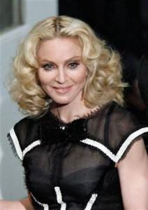Madonna Nice Look With Short Hair