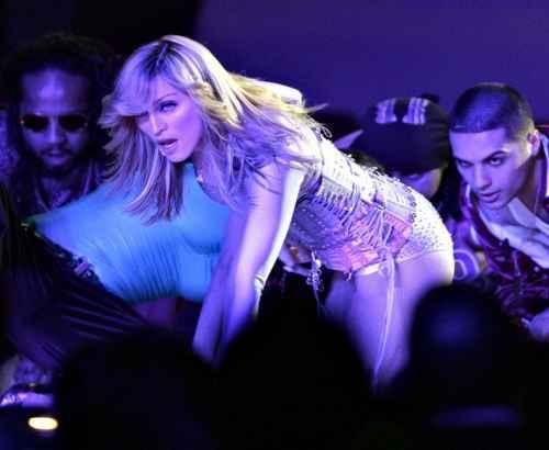 Madonna Rock Performance Still