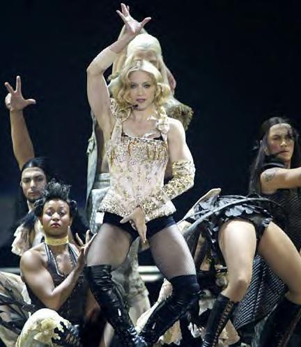 Madonna Sexy Dancing Still