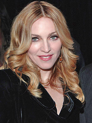 Madonna Sexy Eyes and Cute Lips Pic